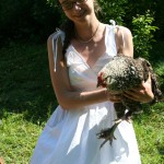 Molly the hen who became fodder for the badger! Lucky badger!!